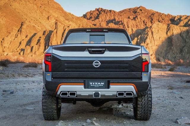 2021 Nissan Titan Warrior rear look