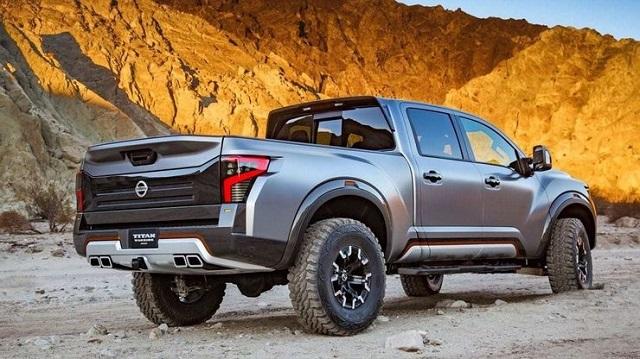 2021 Nissan Titan Warrior side