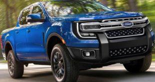 2023 Ford Ranger Raptor front