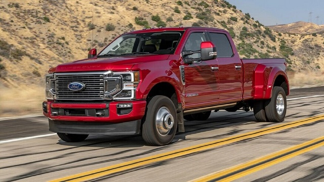 2022 Ford F350 Dually