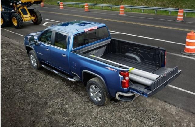 2023 Chevy Silverado 2500 HD rear look