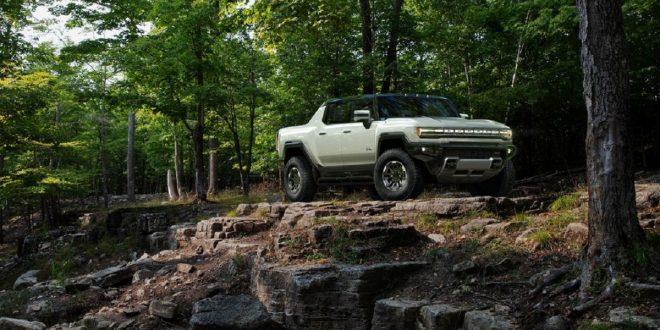 2023 GMC Hummer EV front